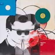 Klaus Killisch, machine says yes, 2012, mixed media on canvas, 110x110cm
