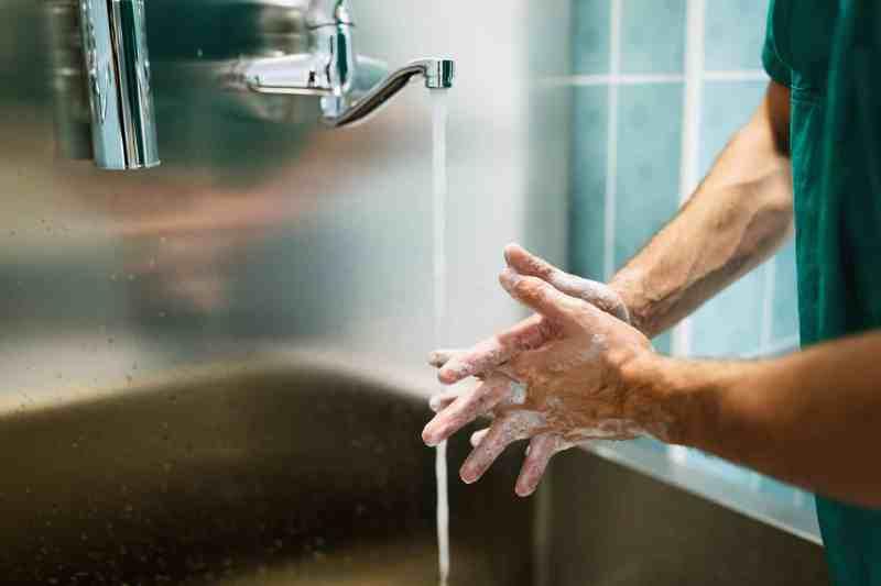 Productos para la asepsia de manos