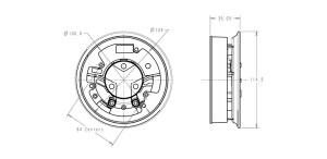 Base Sounder  EN543 Sounders  Klaxon Signalling Solutions