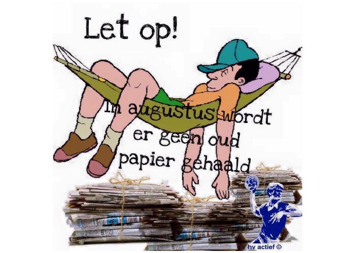 oud papier hv actief