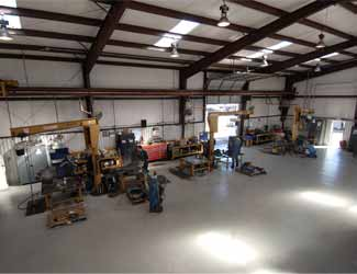 our shop here at K&L Clutch and Transmission