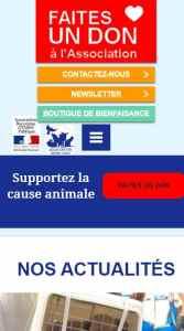 Association Stéphane Lamart Version Mobile