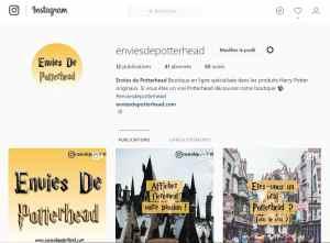 Instagram Envies de Potterhead