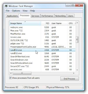 rundll32.exe user ExitWindows Exec
