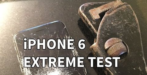 iPhone 6 extreme test