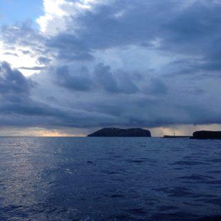 Isola di Ventotene sotto diluvio