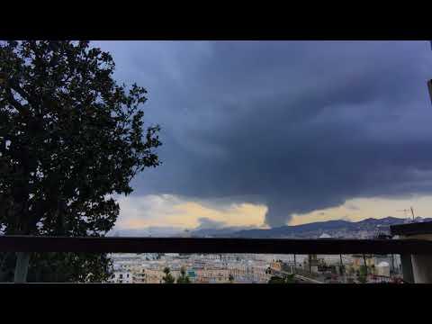 screenshot depressione Genova