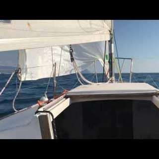 Snapshoot della vista dal mare in direzione Portofino by Stephen Kleckner