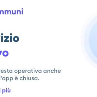 Screenshot app Immuni