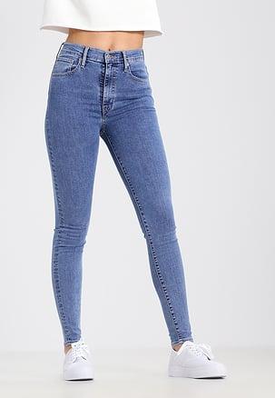 Hoe valt een hoge taille broek