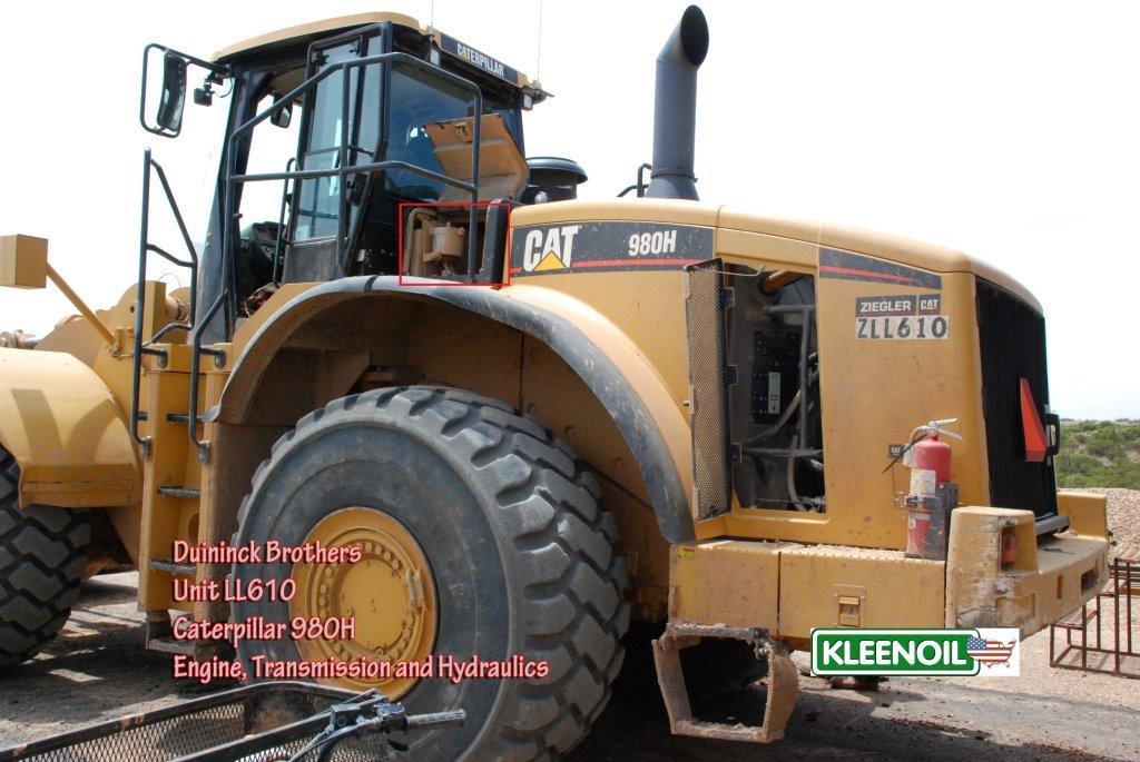 Duininck LL610 Cat 980H Tranny EDIT