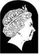 Профиль Елизаветы II 50 лет факсимиле