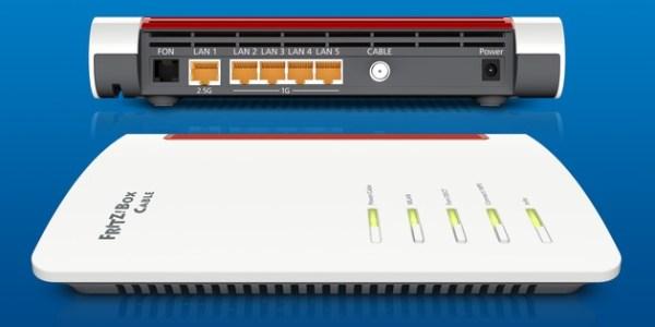 Neue FRITZ!Box für DOCSIS 3.1 mit Wi-Fi 6 – FRITZ!OS 7.10 für FRITZ!Box Cable