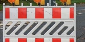 Angelsachsenweg: Provisorische Umfahrung