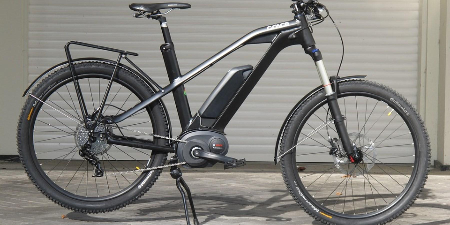 Dieb entwendet E-Bike