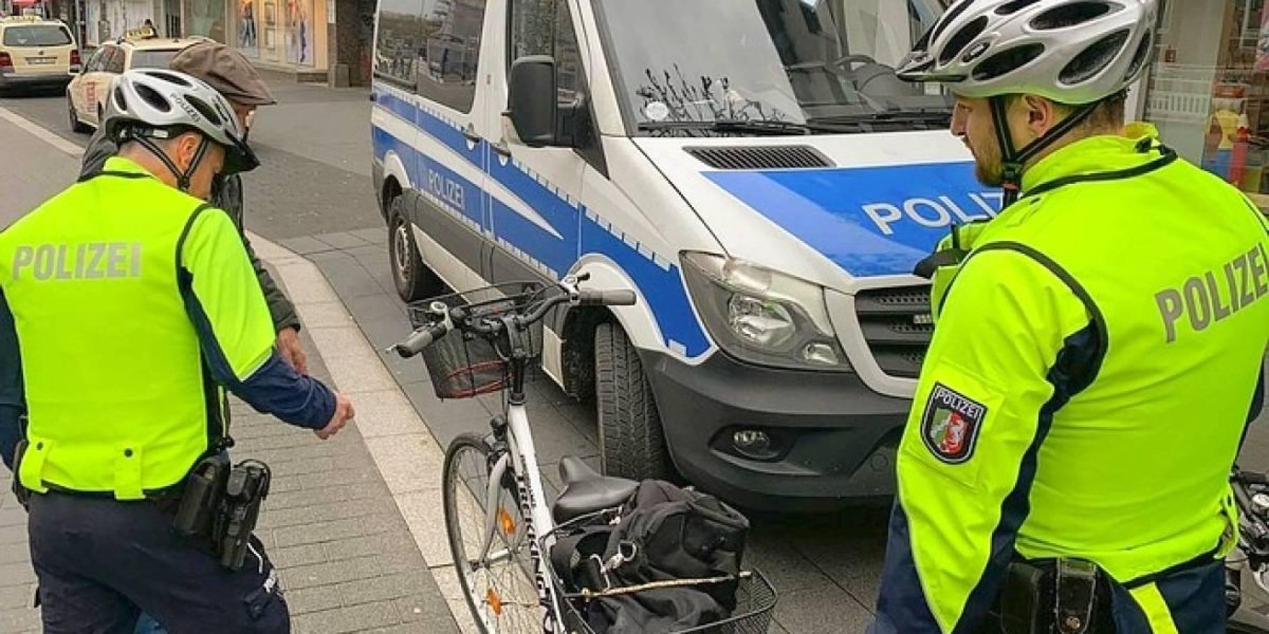 Bei Kontrolle gestohlenes Fahrrad entdeckt
