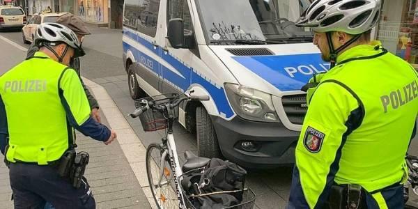 Schwerpunktkontrolle für mehr Sicherheit von Radfahrern