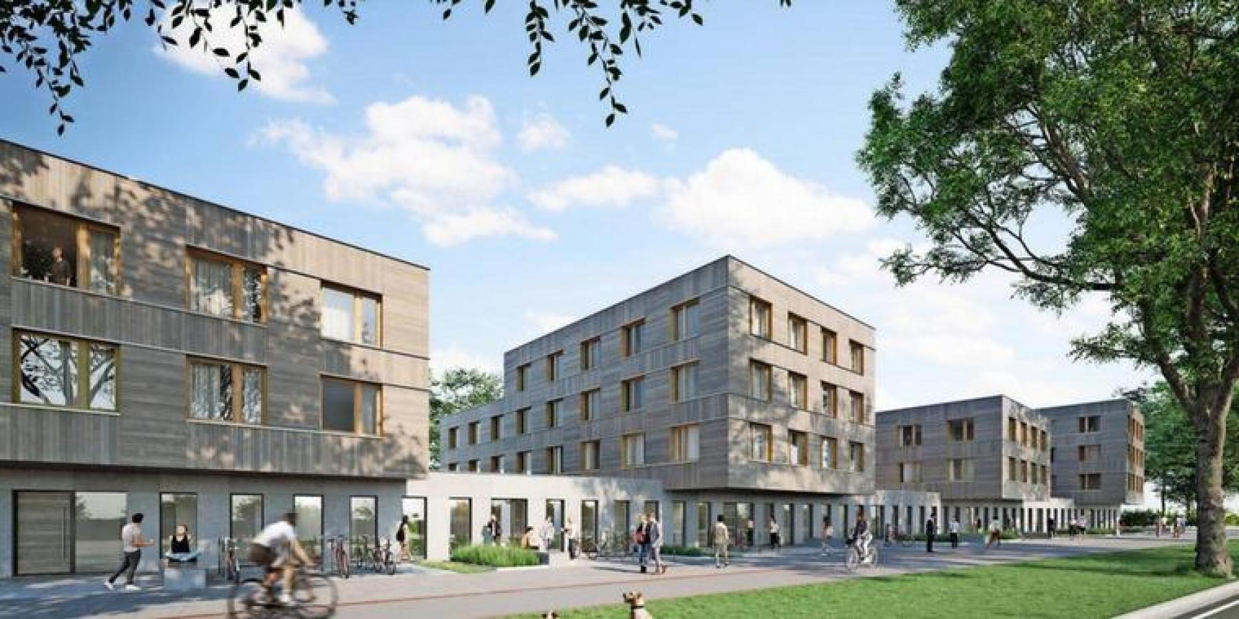 Studentisches Wohnquartier am Johann-Krane-Weg