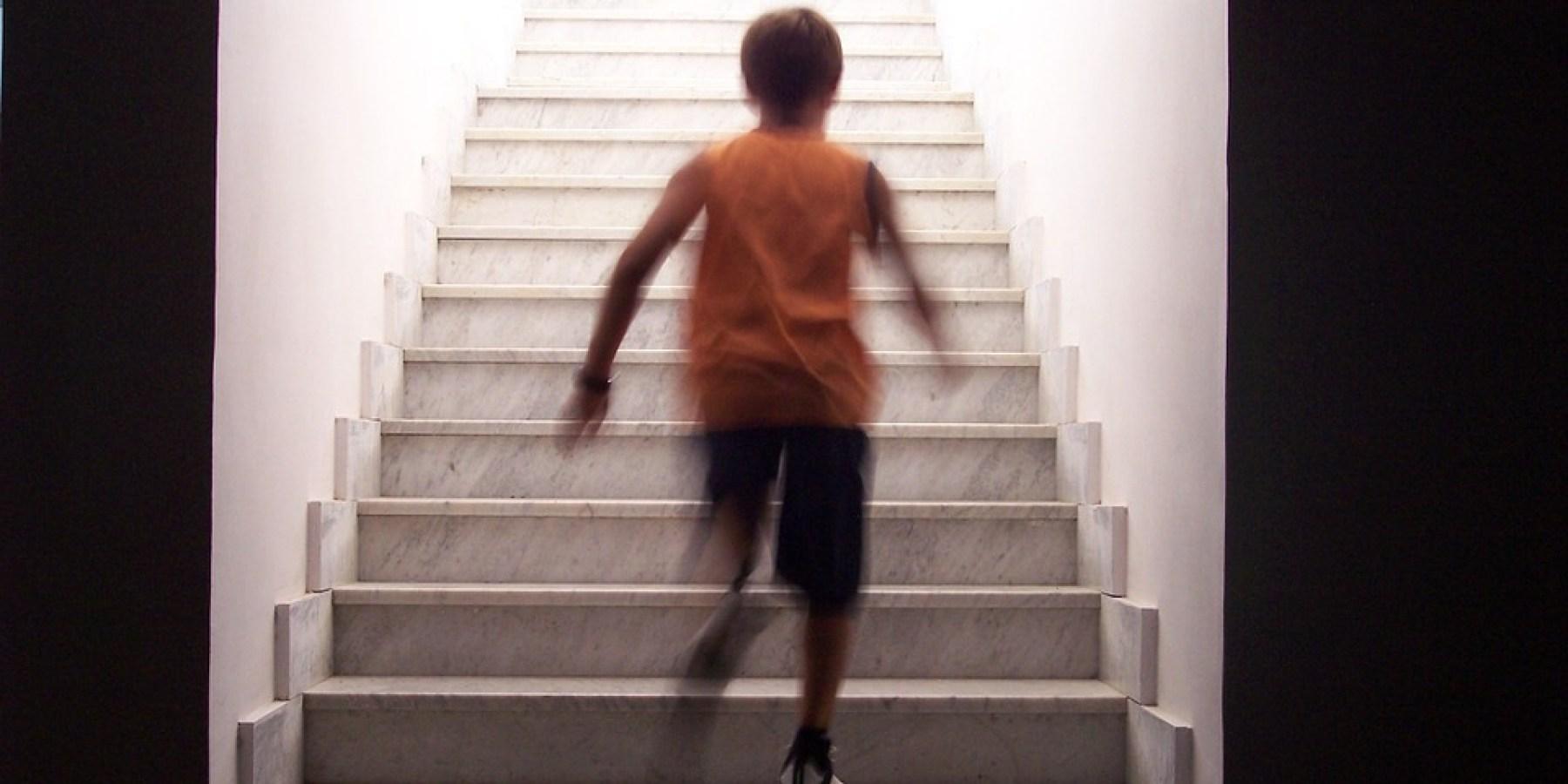Venen durch Laufen und Treppensteigen fit halten
