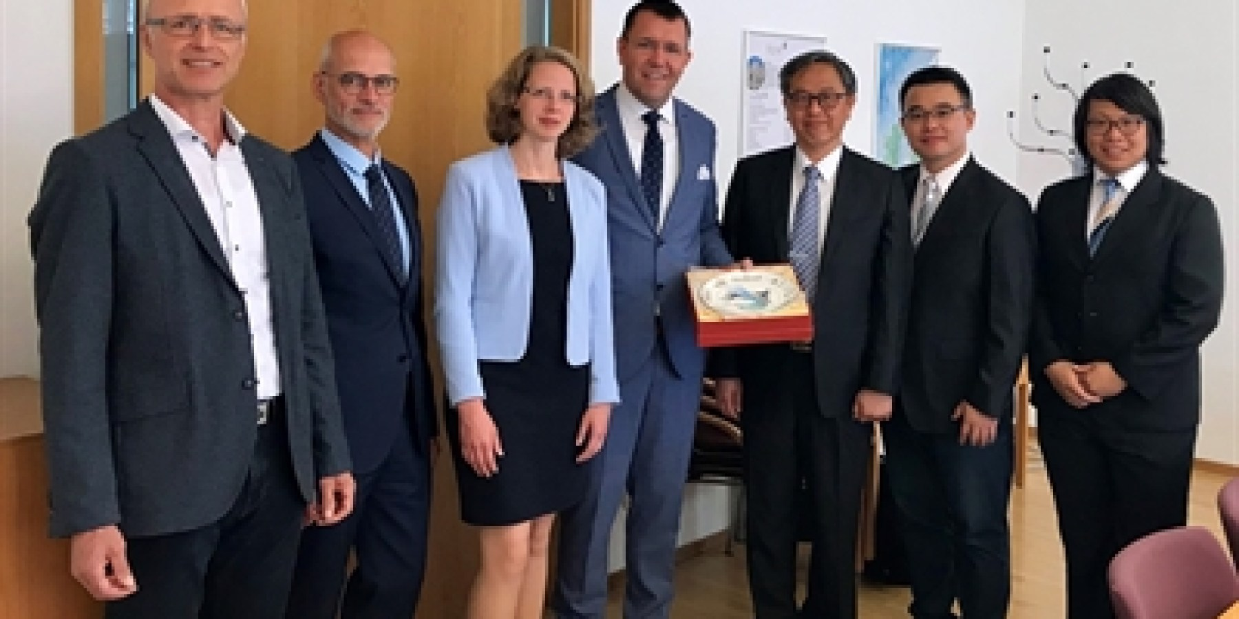 Erfahrungsaustausch zwischen Münster und Taiwan