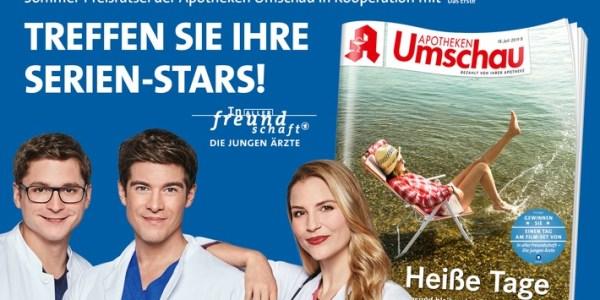 """Treffen Sie Ihre Serien-Stars aus der Das Erste-Erfolgsserie """"In aller Freundschaft – Die jungen Ärzte"""""""