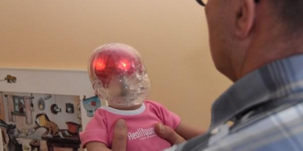 Babypuppe hilft bei der Rekonstruktion von Tathergängen nach Schütteltraumata