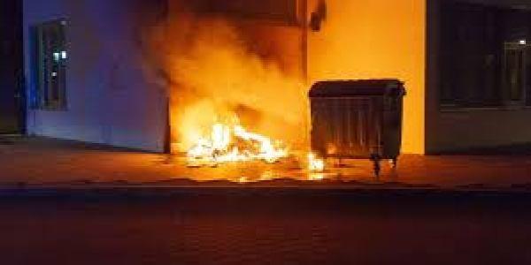 Polizeistreife bemerkt Brand am Studentenwohnheim