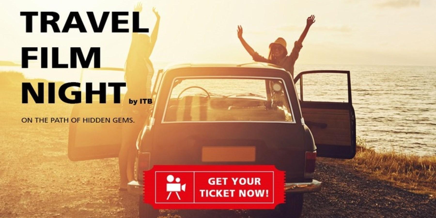 Film ab für Fernweh unter freiem Himmel: Erste Travel Film Night by ITB