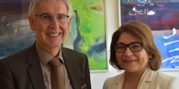 Polizeipräsident Kuhlisch verabschiedet Generalkonsulin der Republik Türkei