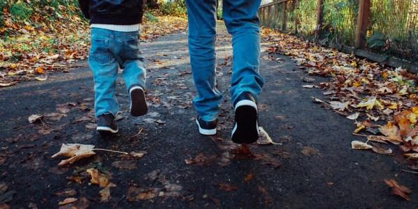 Kinder brauchen in Schuhen vorne etwas Luft