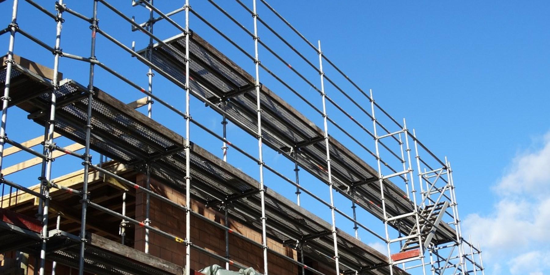 Über Baugerüst in Vereinsgebäude eingebrochen