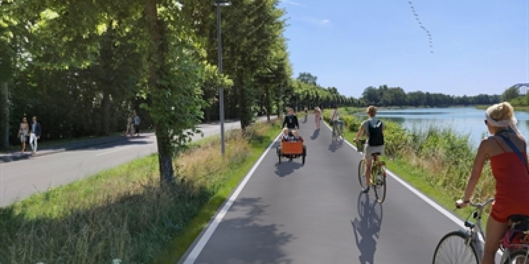Fahrradroute: Planung für Kanalpromenade steht