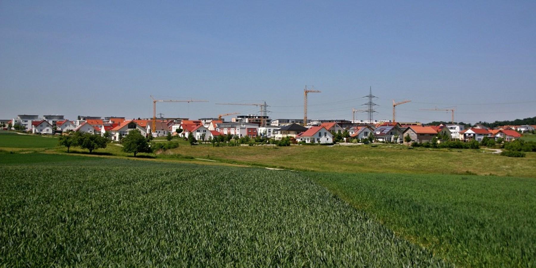 Neues Wohnquartier in Sprakel