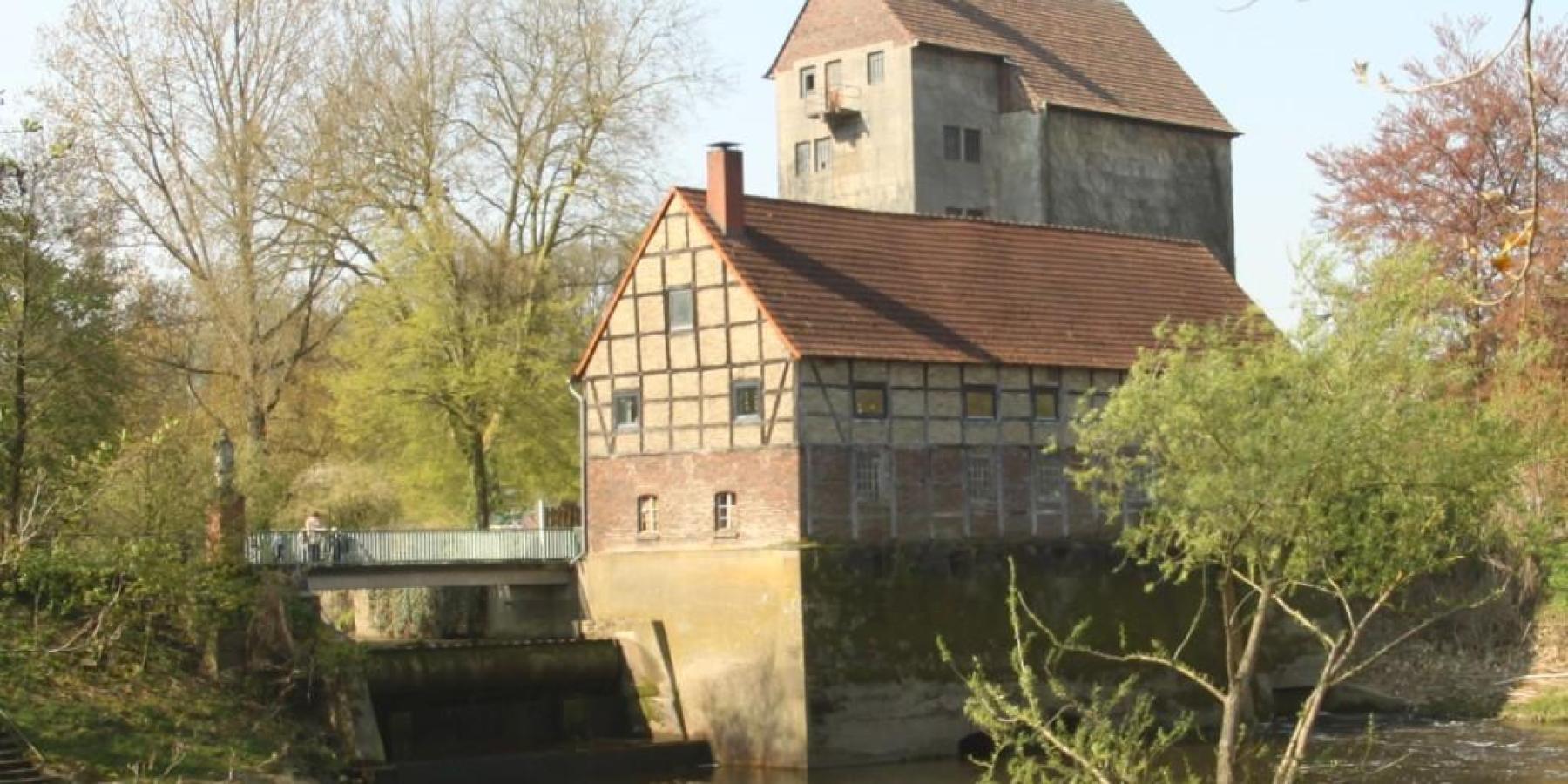 Havichhorster Mühle: Werse-Wehr wird abgesenkt