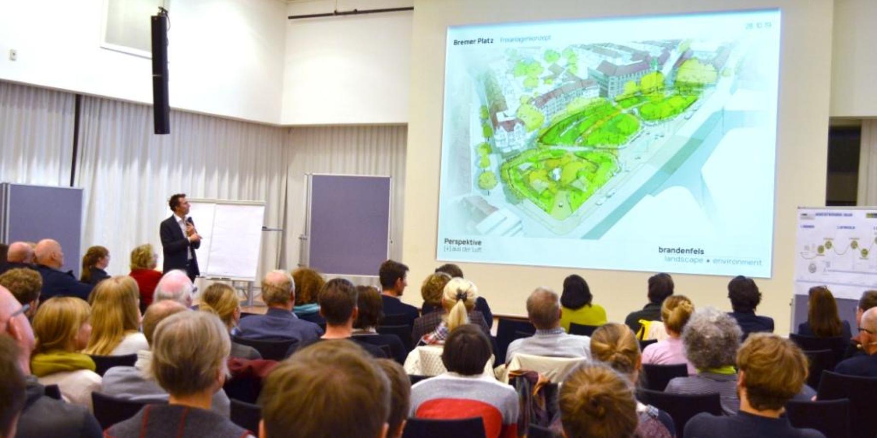 Bremer Platz: Zonen schaffen Raum für verschiedene Nutzergruppen