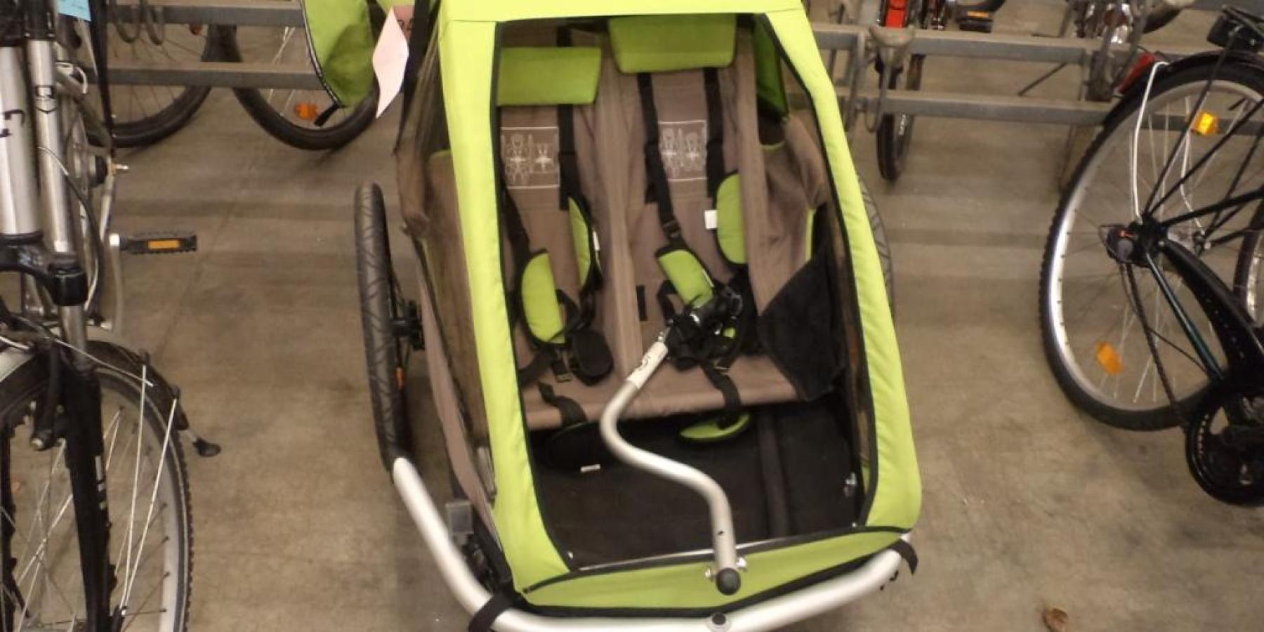 70 Fahrräder und ein Kinder-Anhänger im Angebot