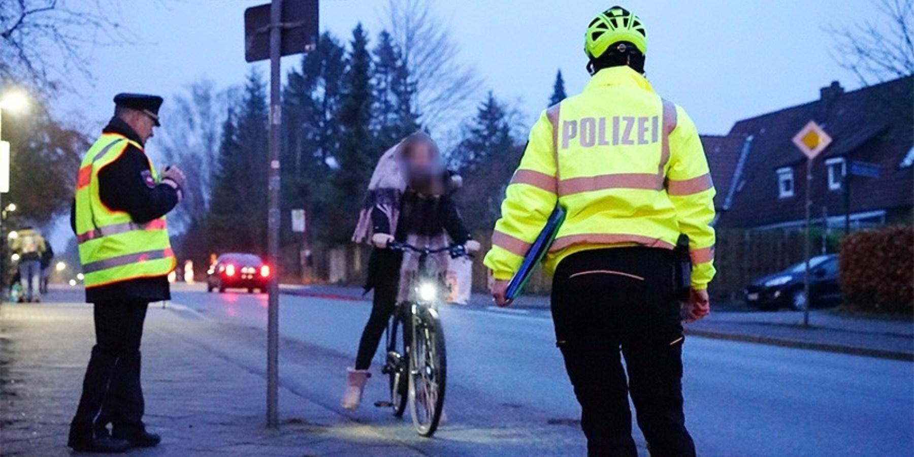 Schwerpunktkontrolle der Polizei Münster