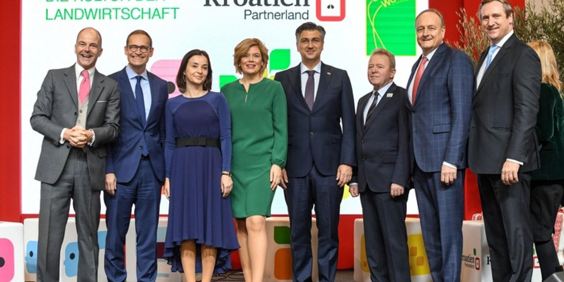 Klöckner eröffnet mit zahlreichen Ministern die Grüne Woche 2020