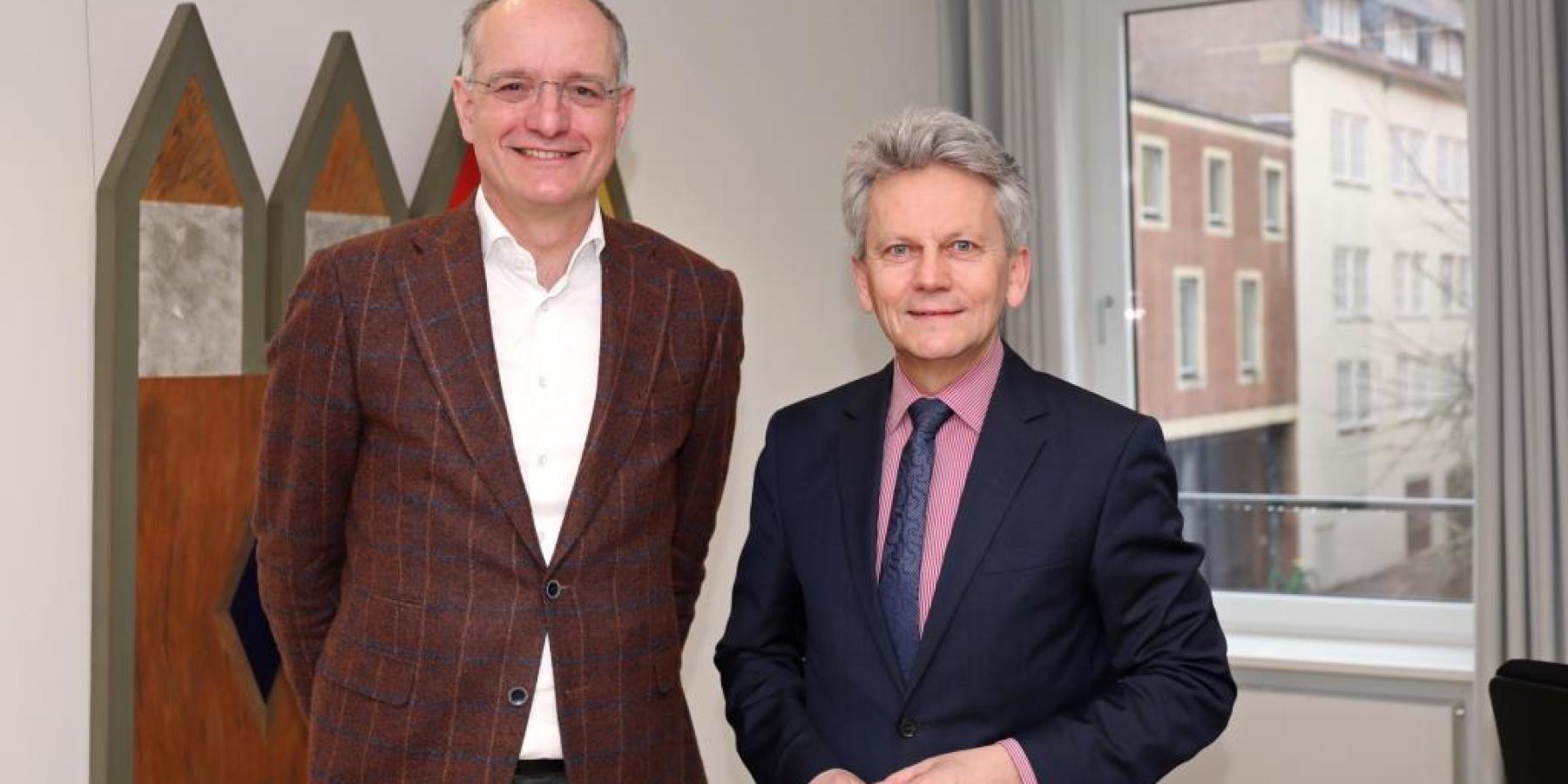 Enschedes Bürgermeister in Münster
