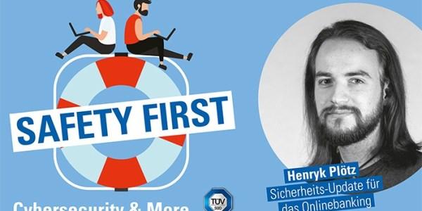 """TÜV SÜD-Podcast """"Safety First"""": Sicherheits-Update für das Onlinebanking"""