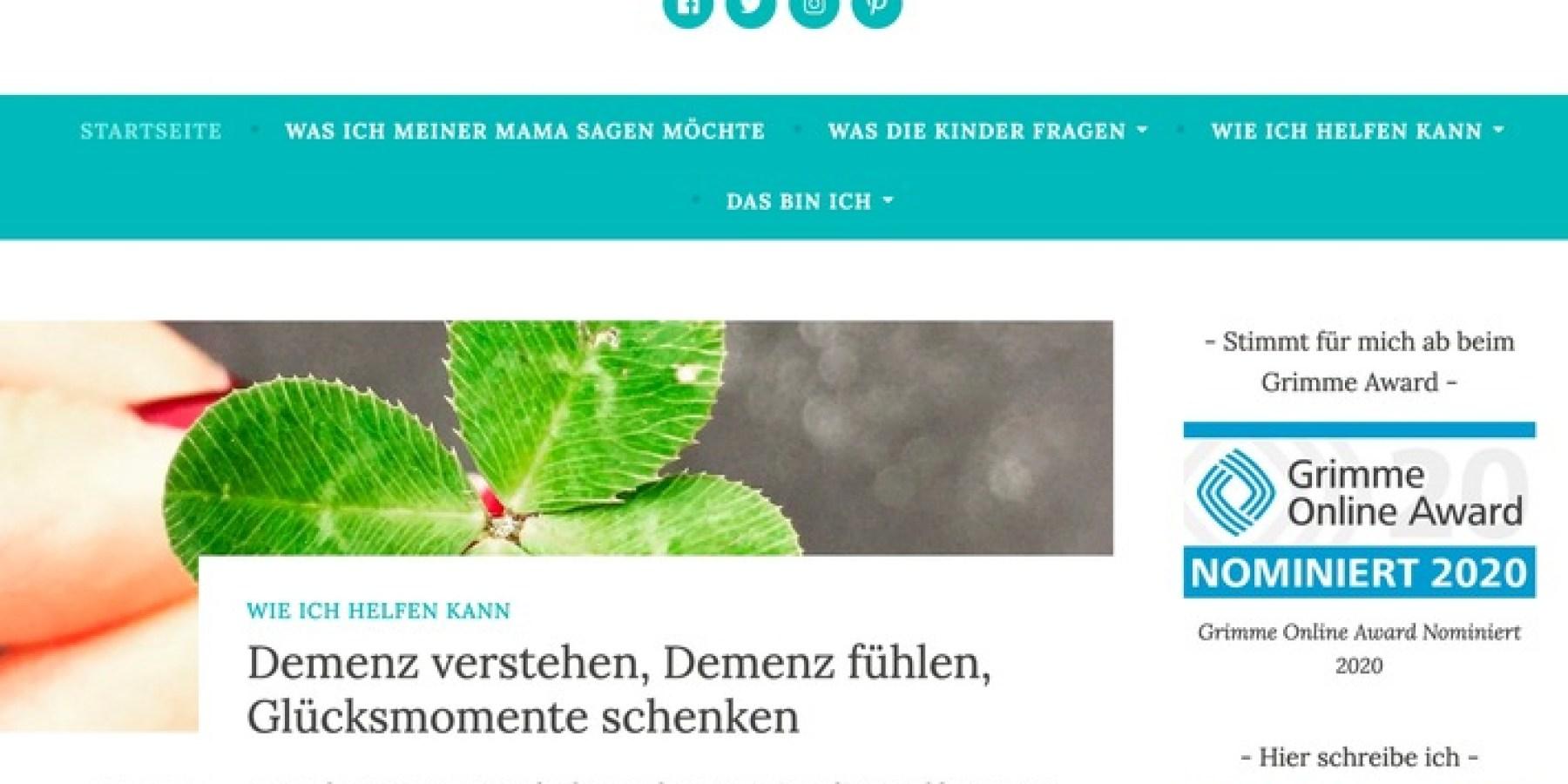 Blog von Baby-und-Familie-Redakteurin ist für den Grimme-Online-Award nominiert