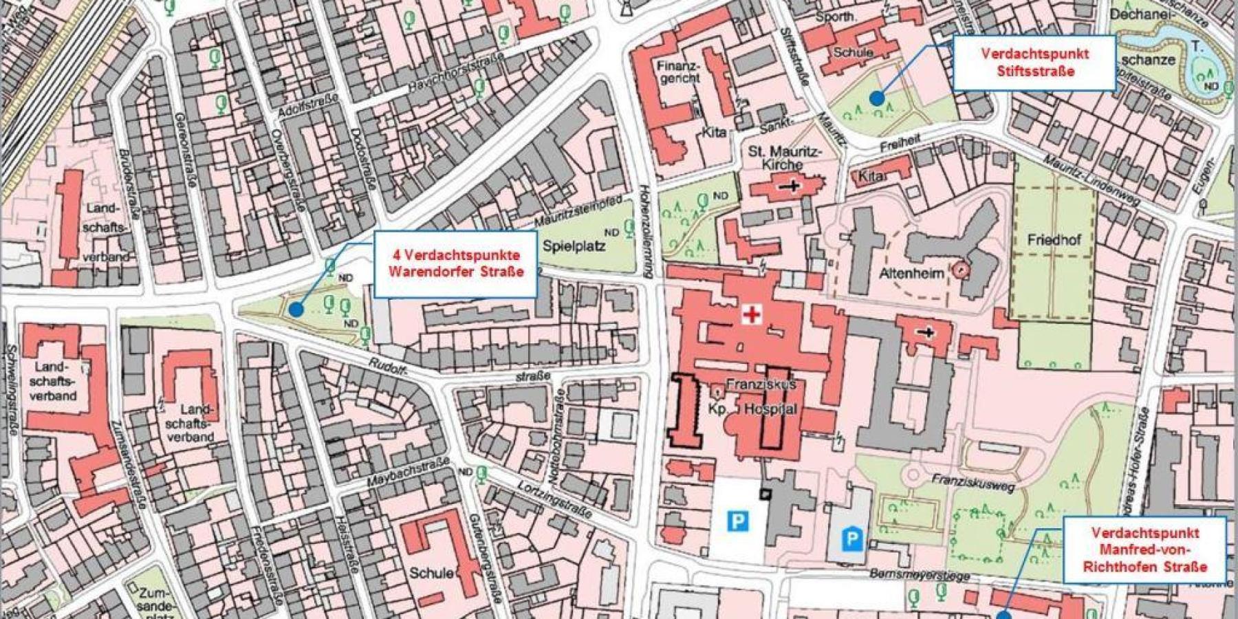Stadt Münster bereitet Groß-Evakuierung vor