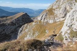 Steig vom Kahlersberg zum Hochgschirr