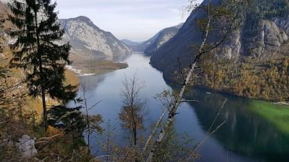 Blick vom Sagerecksteig auf den Königssee