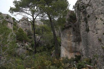 Felsen bei der Ermita