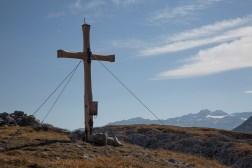 Gipfelkreuz des Wilfpalfen
