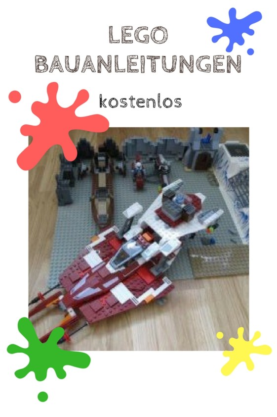 Lego Bauanleitungen Kostenlos lego bauanleitungen gibt es