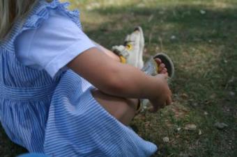 Ich zieh die Schuhe aus...