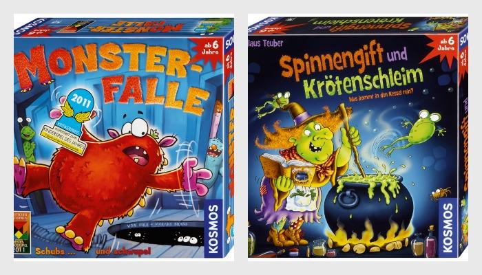 Mein Spieletipp: Monsterfalle und Spinnengift und Krötenschleim