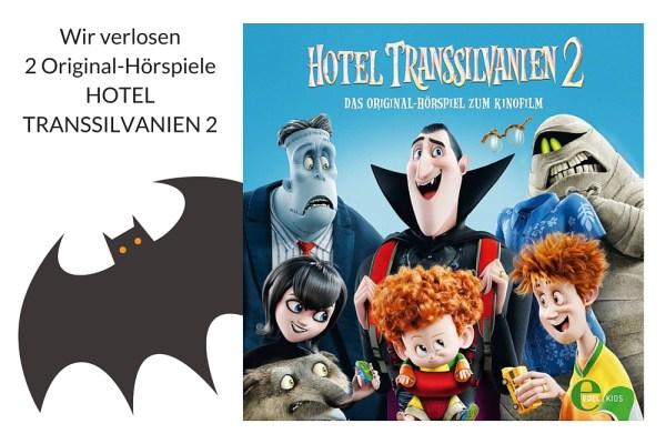 HOTEL TRANSSILVANIEN 2, das Hörspiel – viel Glück bei der letzten Verlosung 2015!